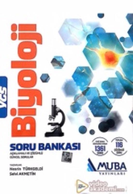 YGS Biyoloji Açıklamalı ve Çözümlü Soru Bankası Muba Yayınları