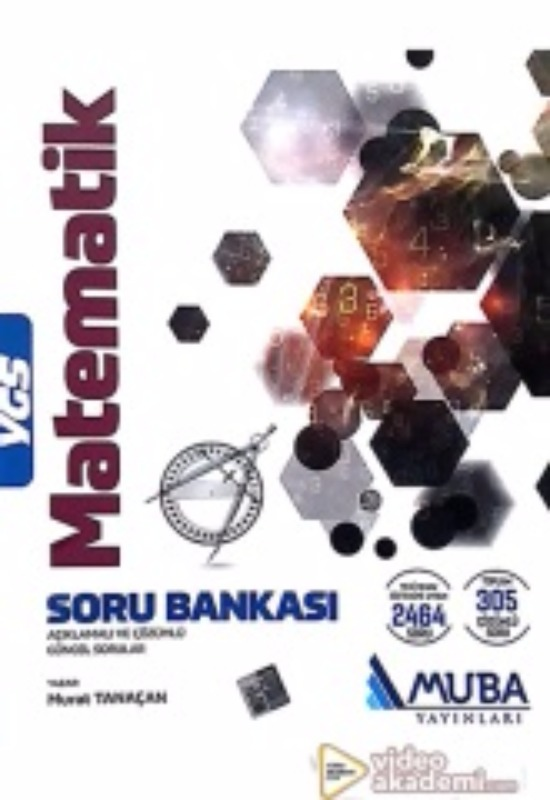 YGS Matematik Açıklamalı ve Çözümlü Soru Bankası Muba Yayınları