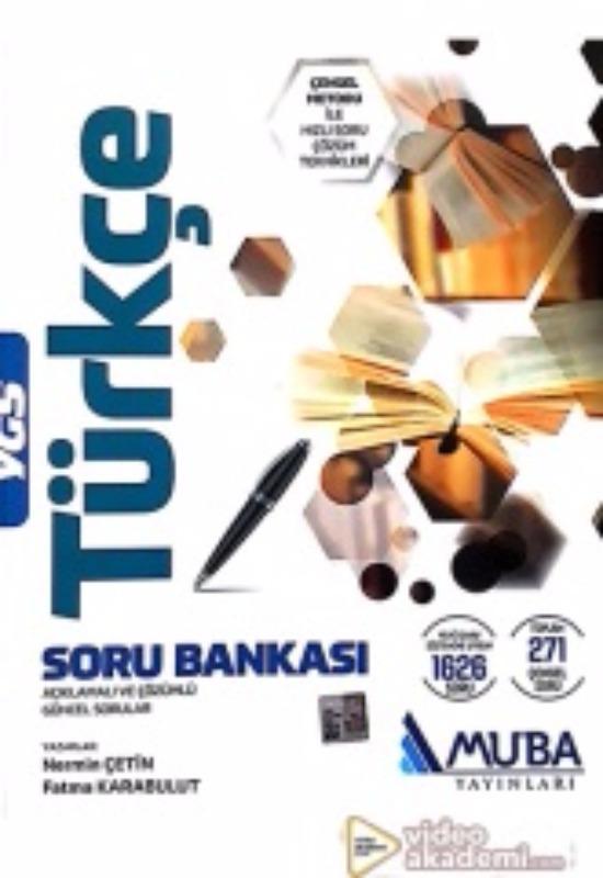 YGS Türkçe Açıklamalı ve Çözümlü Soru Bankası Muba Yayınları