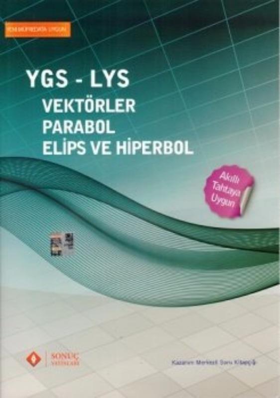Sonuç Yayınları YGS LYS Vektörler Parabol Elips ve Hiperbol