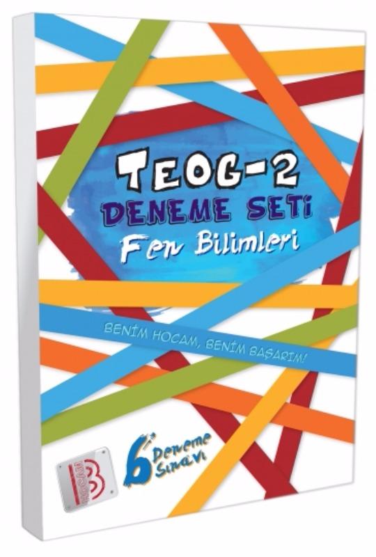 Benim Hocam Yayınları 8. Sınıf TEOG 2 Fen Bilimleri 6 Deneme Sınavı