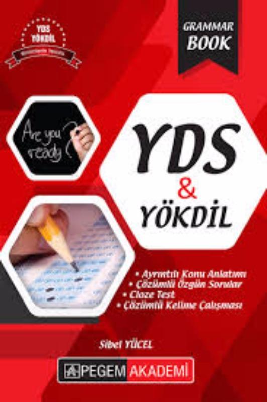 2017 YDS YÖKDİL Grammar Book Pegem Yayınları