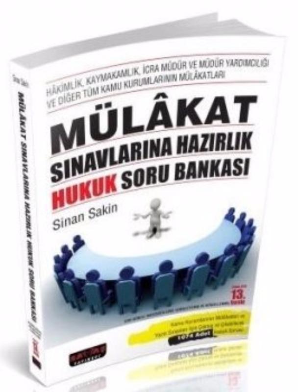 Savaş Yayınları 2017 Mülakat Sınavlarına Hazırlık Hukuk Soru Bankası