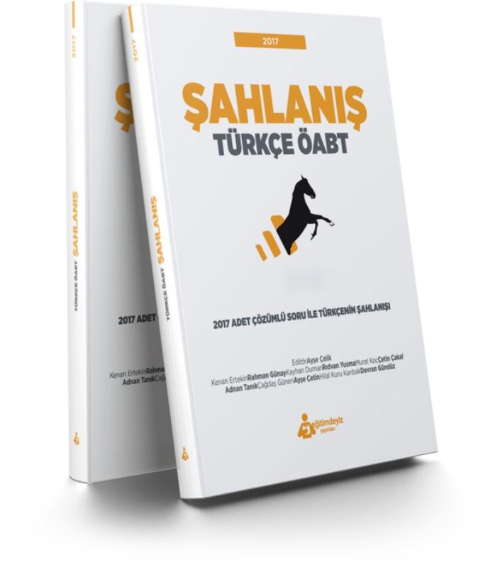 Eğitimdeyiz Yayınları Öabt Türkçe Şahlanış Çözümlü Soru Bankası
