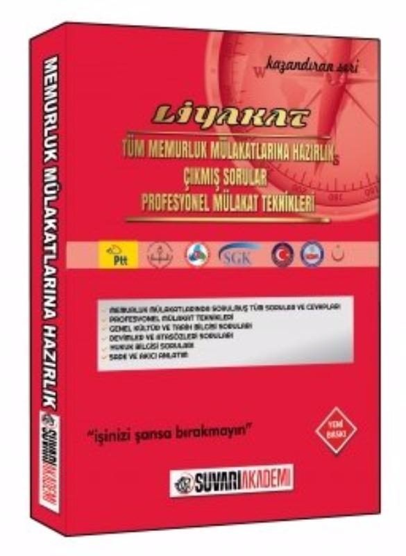 Süvari Akademi 2017 Liyakat Memurluk Mülakatlarına Hazırlık Kitabı