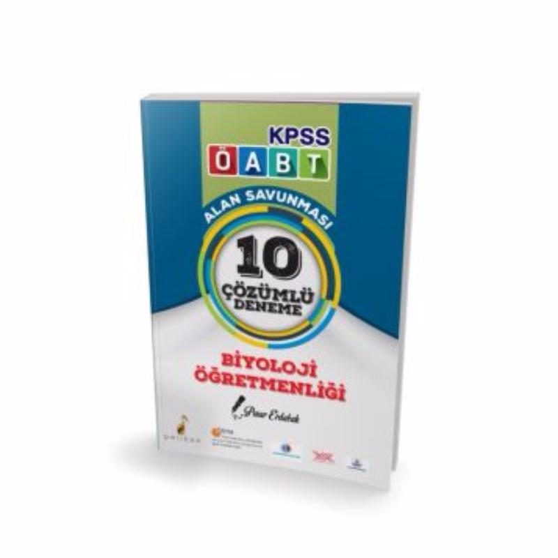 ÖABT Biyoloji  Alan Savunması 10 Çözümlü Deneme Pelikan Yayıncılık 2017