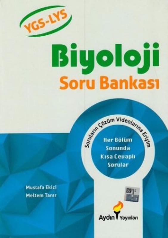 Aydın Yayınları YGS LYS Biyoloji Soru Bankası