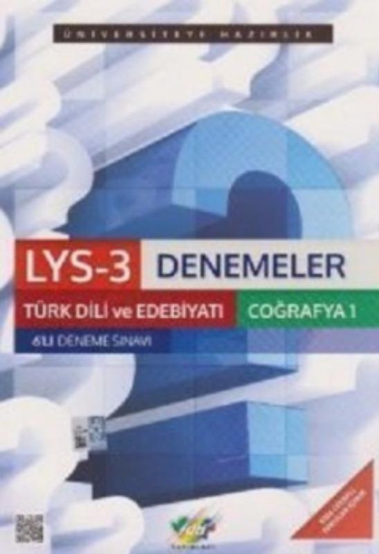LYS-3 Türk Dili ve Edebiyatı Coğrafya-1 6 lı Set FDD Yayınları