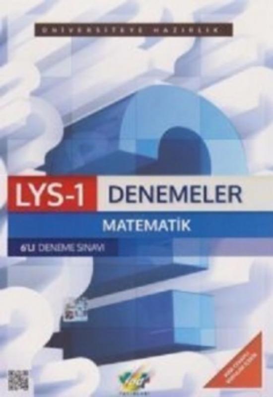 LYS-1 Matematik Geometri Denemeleri 6 lı Set FDD Yayınları