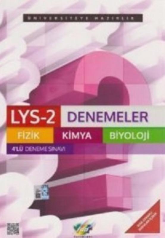 LYS-2 Fizik Kimya Biyoloji 4 lü Set FDD Yayınları