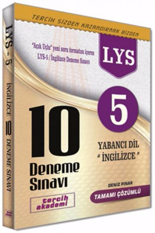 Tercih Akademi LYS 5 İngilizce Açık Uçlu 10 Deneme Sınavı
