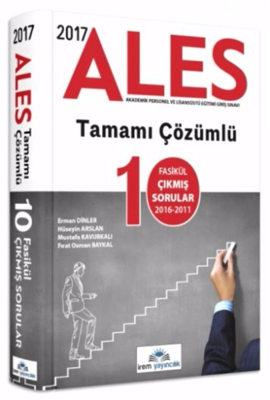 ALES Tamamı Çözümlü 10 Fasikül Çıkmış Sorular İrem Yayınları