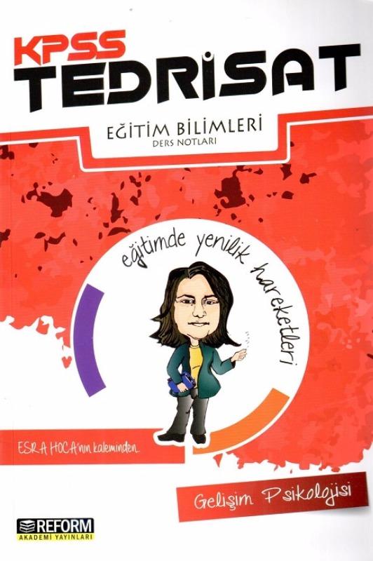 KPSS Eğitim Bilimleri Tedrisat Gelişim Psikoloji Ders Notları Reform Akademi Yayınları 2017