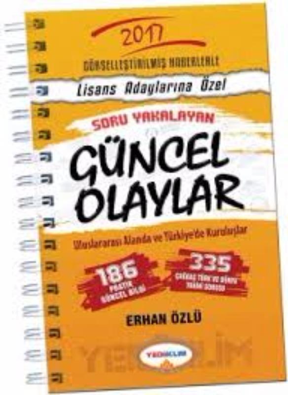 Yediiklim Yayınları 2017 KPSS Güncel Olaylar
