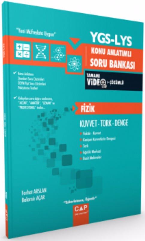 Çap Yayınları YGS LYS Fizik Kuvvet Tork Denge Konu Anlatımlı Soru Bankası