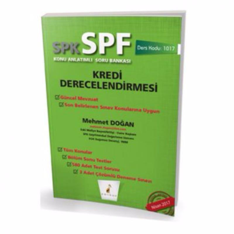 Pelikan Kitabevi SPK   SPF Kredi Derecelendirmesi Konu Anlatımlı Soru Bankası 1017