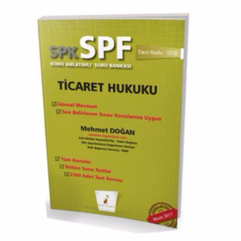 Pelikan Yayınevi SPK – SPF Ticaret Hukuku Konu Anlatımlı Soru Bankası 1010