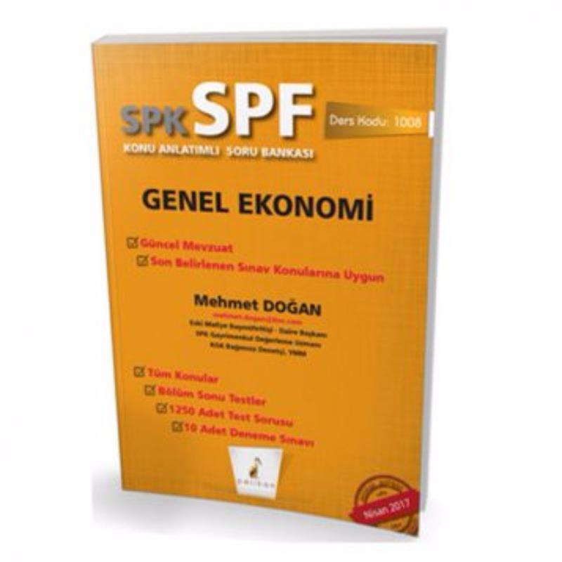 Pelikan Yayınevi SPK  SPF Genel Ekonomi Konu Anlatımlı Soru Bankası 1008
