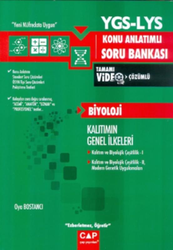 YGS LYS Biyoloji Kalıtımın Genel İlkeleri Konu Anlatımlı Soru Bankası Çap Yayınları