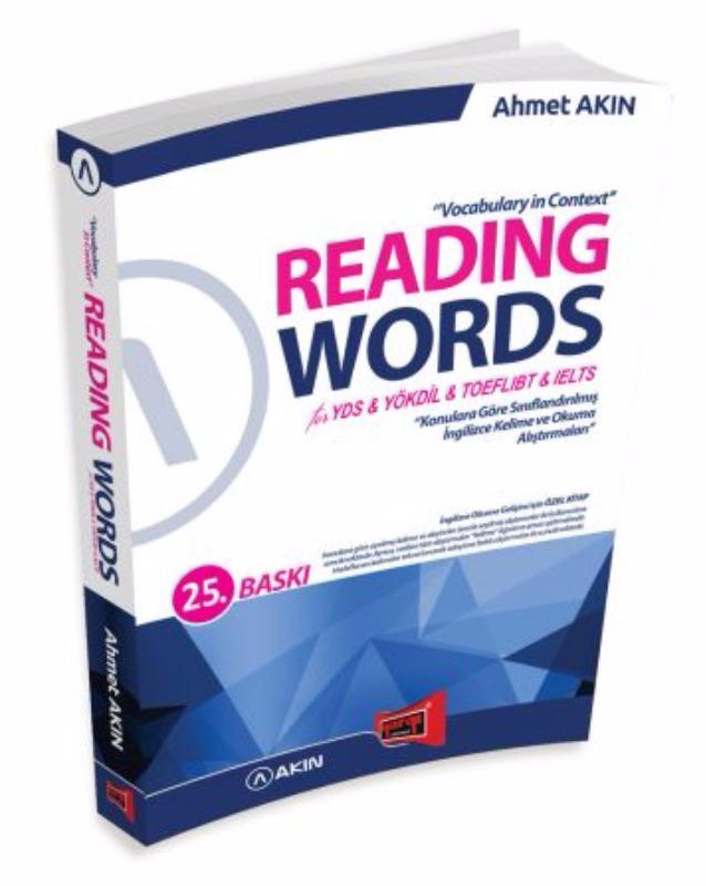 Reading Words for YDS TOEFL İBT IELTS  Yargı Yayınları