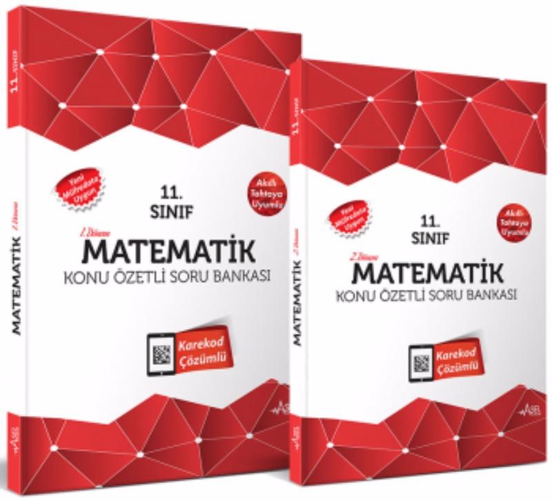 Asel 11. Sınıf Matematik Konu Özetli Soru Bankası Seti 2 Kitap