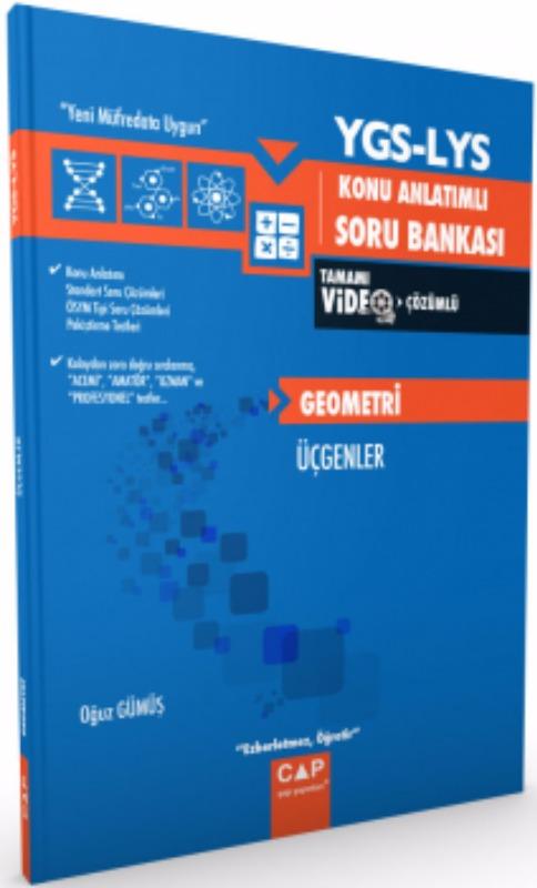 Çap Yayınları YGS LYS Fizik Kuvvet ve Hareket II Konu Anlatımlı Soru Bankası