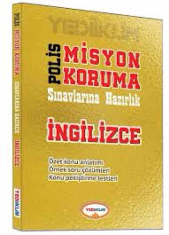 Polis Misyon Koruma Sınavlarına Hazırlık İngilizce Yediiklim Yayınları