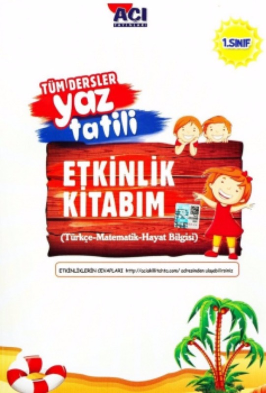 Açı Yayınları 1. Sınıf Tüm Dersler Yaz Tatili Etkinlik Kitabım