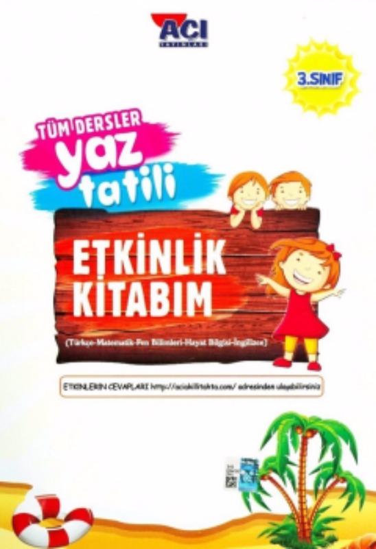 3. Sınıf Tüm Dersler Yaz Tatili Etkinlik Kitabım Açı Yayınları