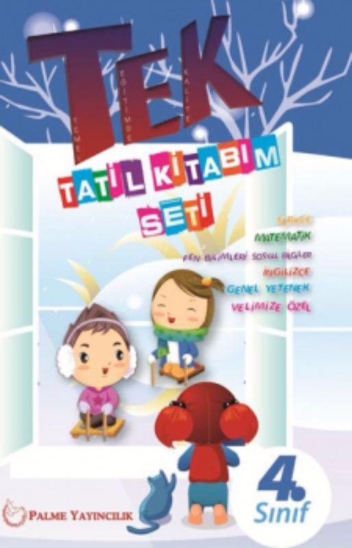 Palme Yayınları 4. Sınıf Tek Tatil Kitabım Seti