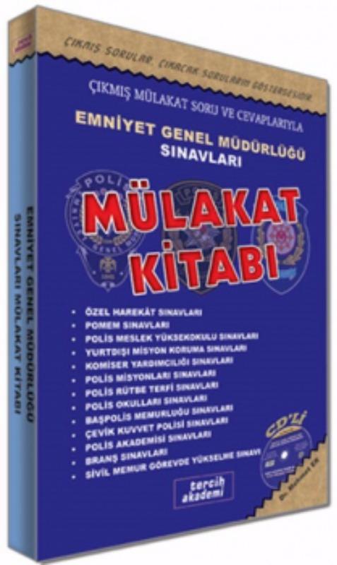 Emniyet Genel Müdürlüğü Sınavları Sonrası Mülakat Kitabı Tercih Akademi Yayınları