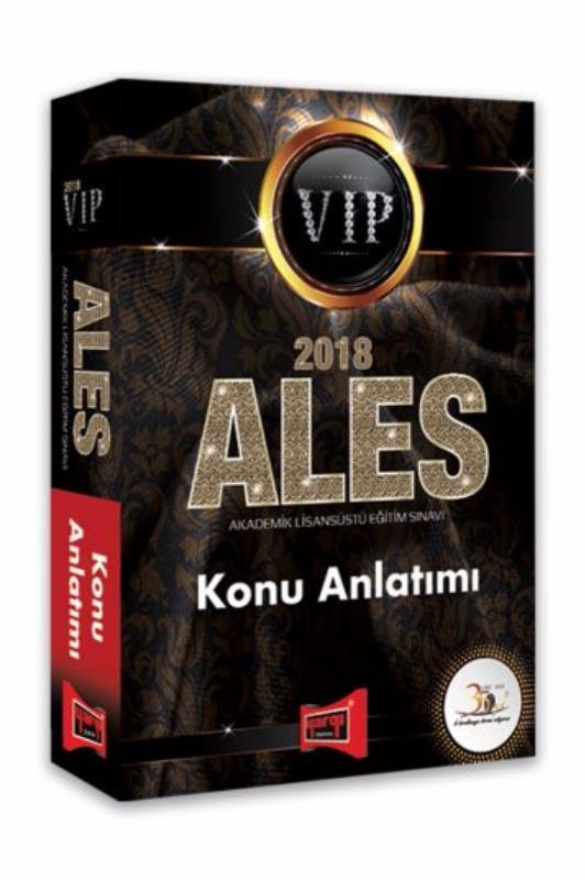 ALES VIP Konu Anlatımı Yargı Yayınları 2018