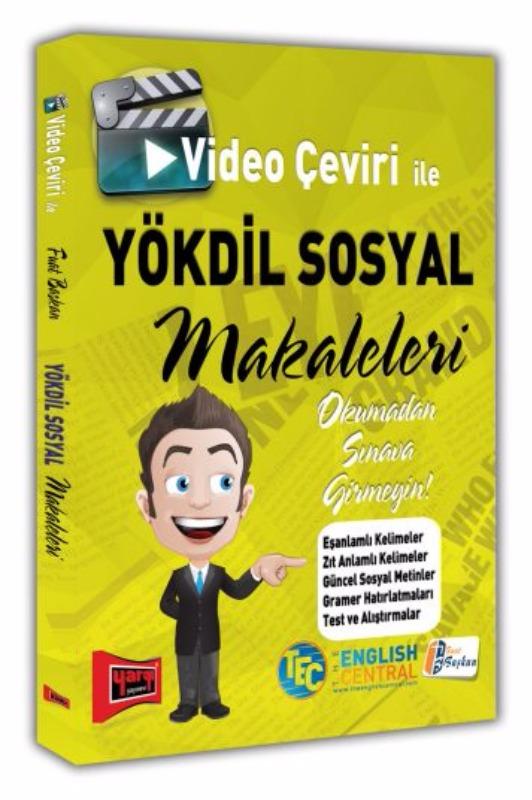 Video Çeviri İle YÖKDİL SOSYAL Makaleleri Yargı Yayınları