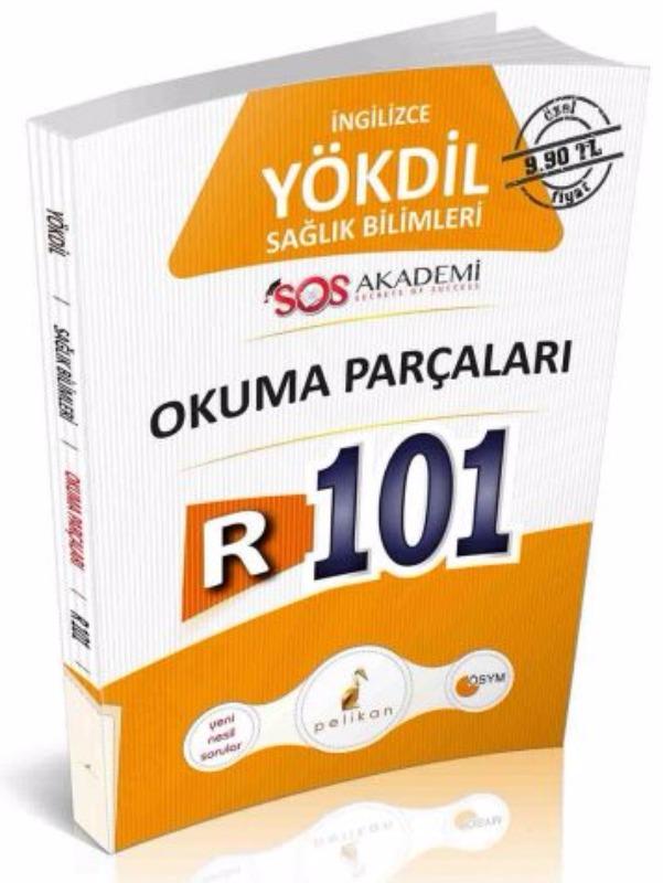 YÖKDİL İngilizce Sağlık Bilimleri R101 Okuma Parçaları Pelikan Yayınları