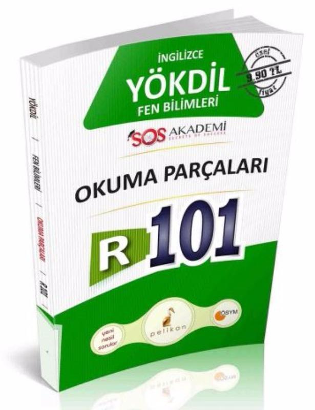 YÖKDİL İngilizce Fen Bilimleri R101 Okuma Parçaları Pelikan Yayınları