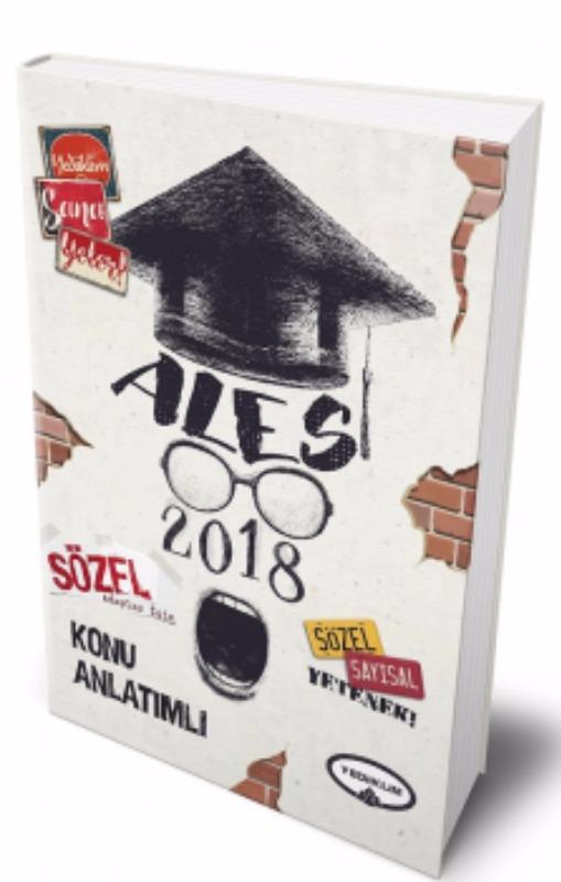 ALES Sözel Adaylar İçin Konu Anlatımlı Yediiklim Yayınları 2018