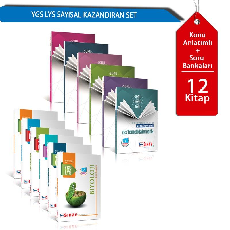 YGS LYS Sayısal Kazandıran Set Sınav  Yayınları
