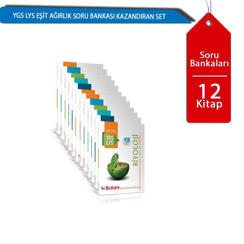 Sınav Yayınları YGS LYS Eşit Ağırlık Soru Bankası Kazandıran Set