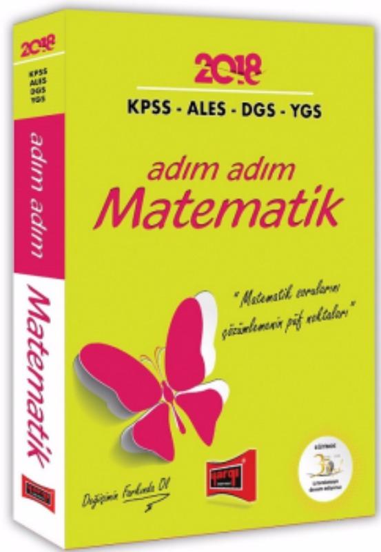 Yargı Yayınları  KPSS ALES DGS YGS için Adım Adım Matematik