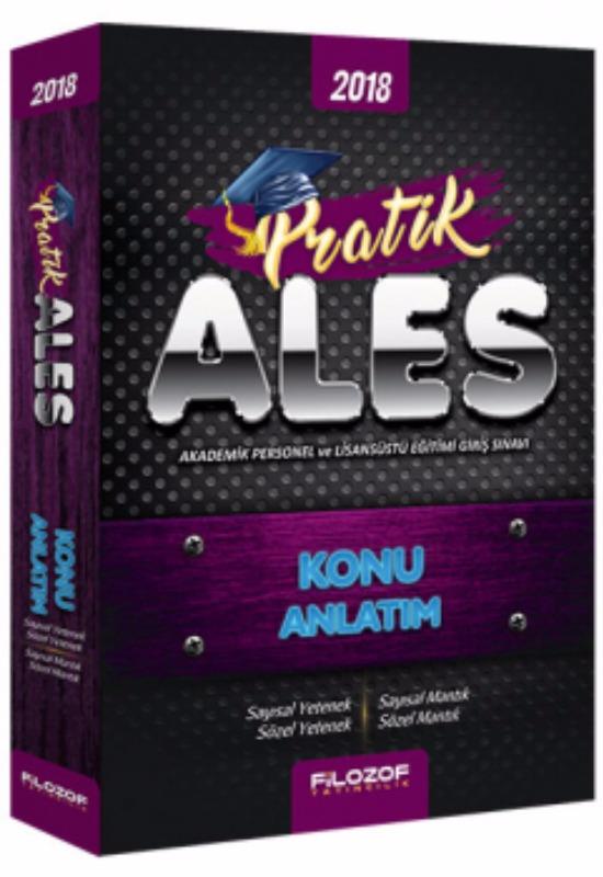 ALES Pratik Sayısal ve Sözel Yetenek Konu Anlatım Filozof Yayıncılık