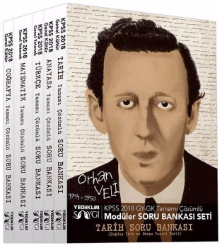 KPSS GYGK Tamamı Çözümlü Modüler Soru Bankası Seti  Yediiklim Yayınları