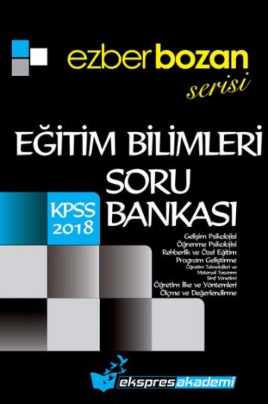 KPSS Eğitim EZBERBOZAN Serisi Soru Bankası Ekspres Akademi