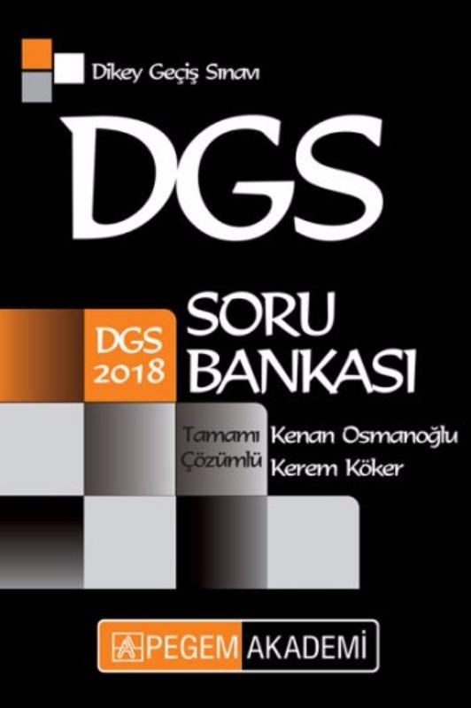 DGS Tamamı Çözümlü Soru Bankası Pegem Yayınları