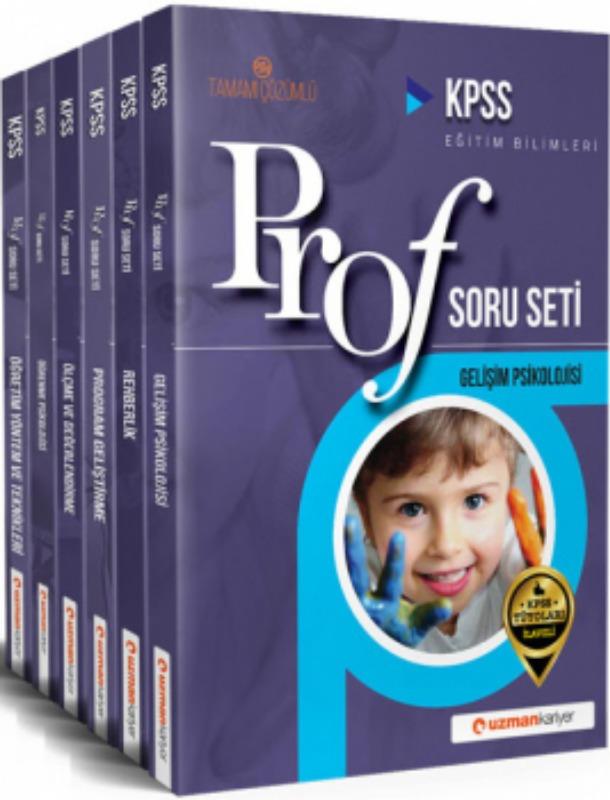 KPSS Eğitim Bilimleri Profesyonel Soru Seti Tamamı Çözümlü Uzman Kariyer Yayınları