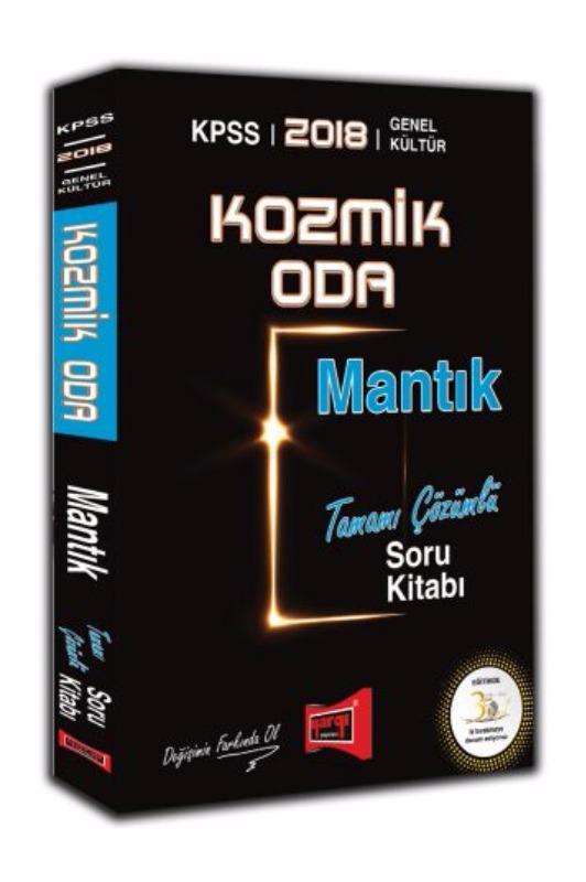KPSS Kozmik Oda Mantık Tamamı Çözümlü Soru Kitabı Yargı Yayınları