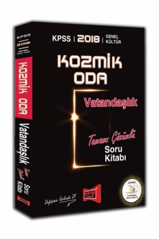KPSS Kozmik Oda Vatandaşlık Tamamı Çözümlü Soru Kitabı Yargı Yayınları