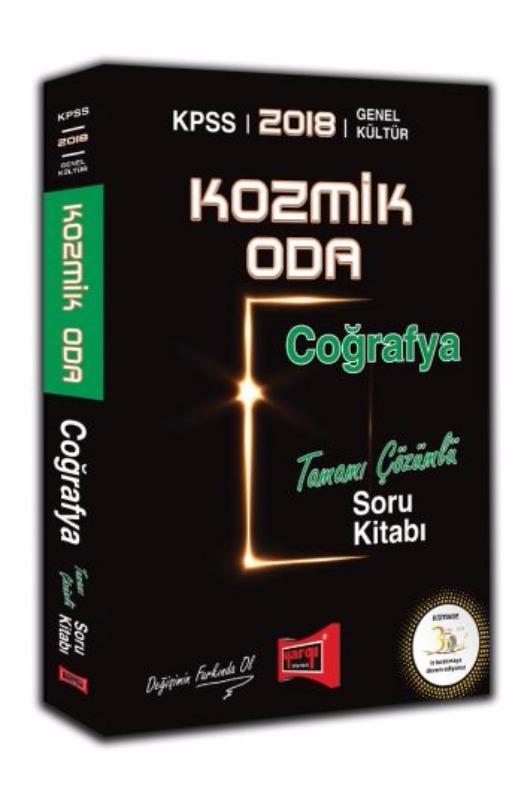 KPSS Kozmik Oda Coğrafya Tamamı Çözümlü Soru Kitabı Yargı Yayınları