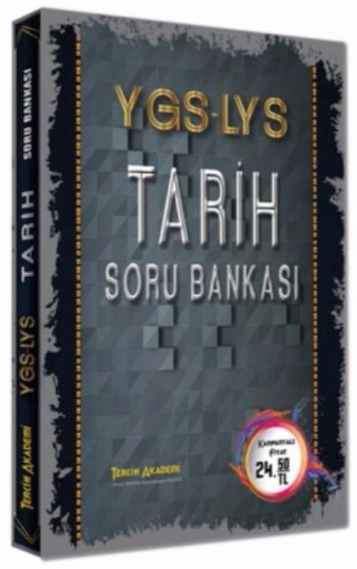 YGS LYS Tarih Soru Bankası Tercih Akademi  Yayınları