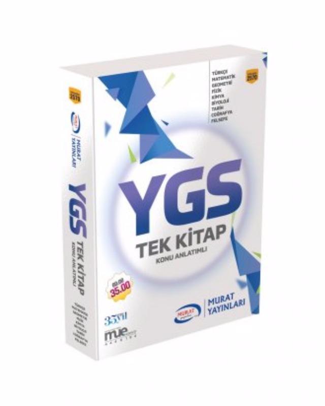 Ygs Tek Kitap Konu Anlatımlı Murat Yayınları