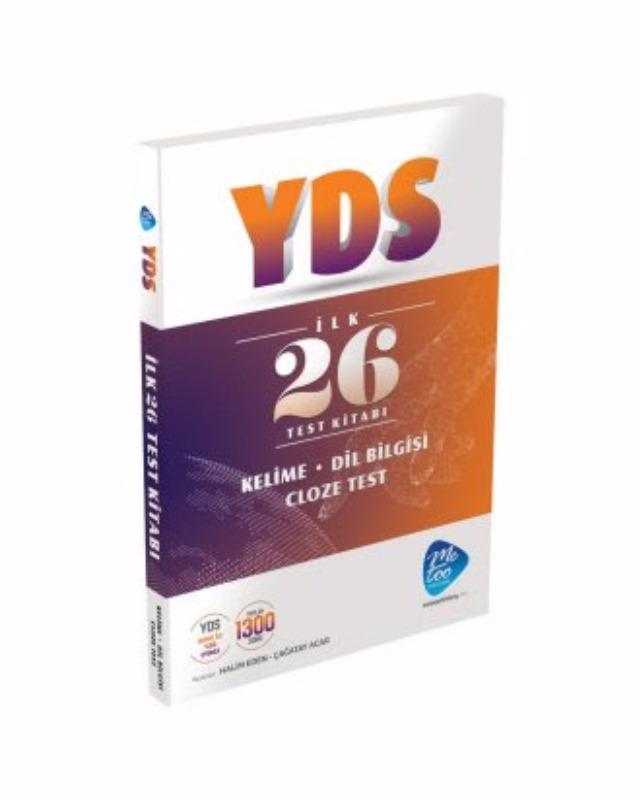 YDS İlk 26 Test Kitabı - Cloze Test Metoo Publishing